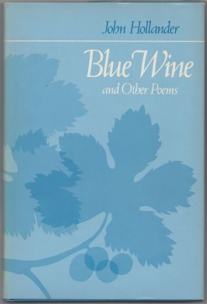 Blue Wine and Other Poems