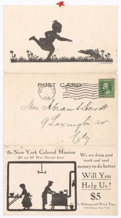 Postcard]: The New York Colored Mission