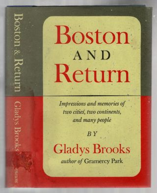 Boston and Return. Gladys BROOKS