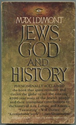 Jews, God and History. Max I. DIMONT