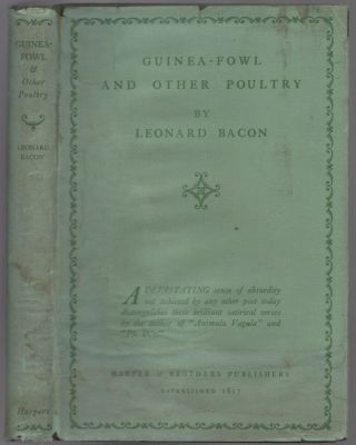 Guinea-Fowl and Other Poultry. Leonard BACON