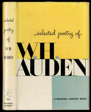 Selected Poetry of W.H. Auden. W. H. AUDEN
