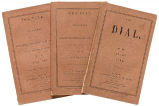 """Lectures on the Times""; ""Natural History of Massachusetts"" [in] The Dial: A Magazine for..."
