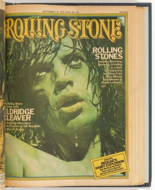 Rolling Stone. 15 Bound Volumes with 180 Consecutive Issues Number 31 - 210. (April 19, 1969 - April 8, 1976)