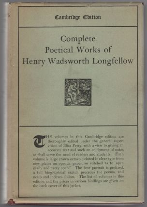 The Complete Poetical Works of Henry Wadsworth Longfellow. Henry Wadsworth LONGFELLOW