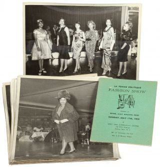"Archive]: African-American Fashion Show ""La Femme Politique Fashion Show"""