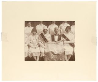 [Photograph]: Large Format Photograph of the Eureka Chapter of the Prince Hall Order of the Eastern Star (O.E.S.)