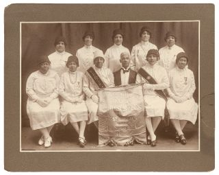 Photograph]: Large Format Photograph of the Eureka Chapter of the Prince Hall Order of the...