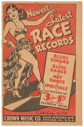 Catalog]: Newest Latest Race Records: Blues Singing, Blues Dance, Spirituals