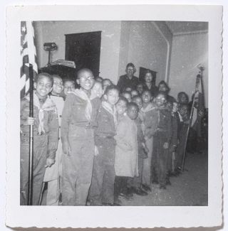 [Photographs]: African-American Boy Scouts in Pennsylvania