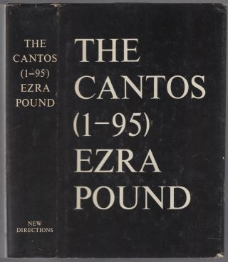 The Cantos (1-95). Ezra POUND