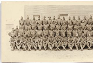 [Panoramic photograph]: Company A. 318th. Engrs. (Combat) Bn. 14th. Feb. 1944