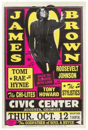 Poster): James Brown / Back to Augusta with Love / Tomi Rae Hynie / Roosevelt Johnson / The...