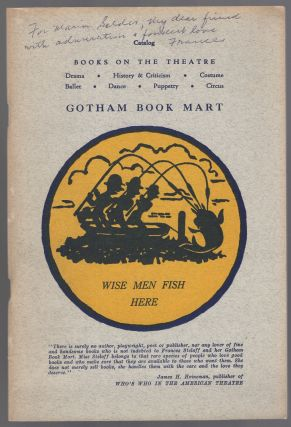 Gotham Book Mart Catalog: Books on the Theatre