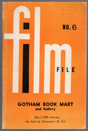 Gotham Book Mart & Gallery Film File No. 6