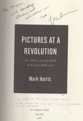 Pictures at a Revolution: Five Movies and the Birth of the New Hollywood