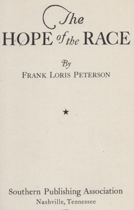 The Hope of the Race