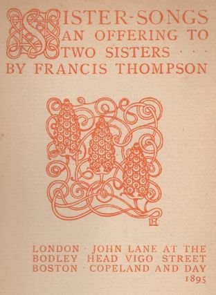 Sister-Songs: An Offering to Two Sisters