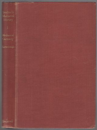 Mediaeval Germany 911-1250. Essays by German Historians. Volume 1: Introduction (ONLY). Geoffrey...
