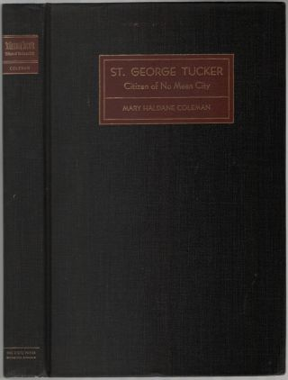 St. George Tucker: Citizen of No Mean City