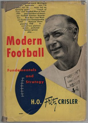 Modern Football: Fundamentals and Strategy. H. O. Fritz CRISLER