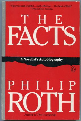 The Facts: A Novelist's Autobiography. Philip ROTH