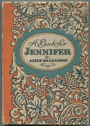 A Book for Jennifer: A Story of London Children in the Eighteenth Century and of Mr. Newbery's...