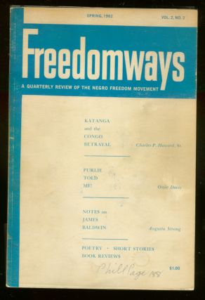 Freedomways: A Quarterly Review of the Negro Freedom Movement