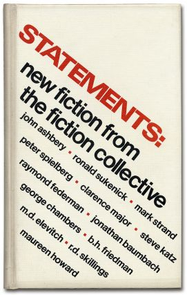 Statements: New Fiction from the Fiction Collective