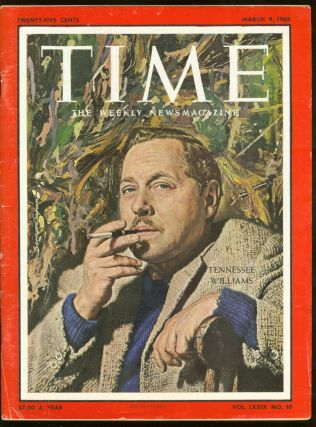 Time: March 9, 1962, Volume LXXIX, Number 10. Henry R. LUCE, Tennessee Williams