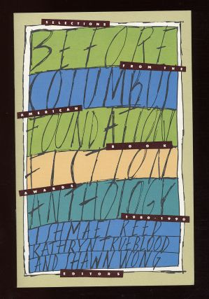 The Before Columbus Foundation Poetry Anthology/Fiction Anthology
