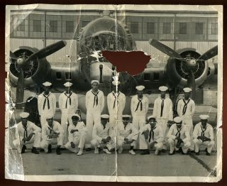 Photograph of African American Air Crew