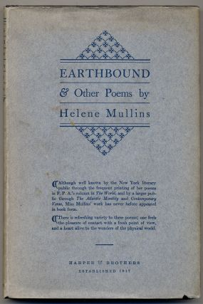 Earthbound and Other Poems