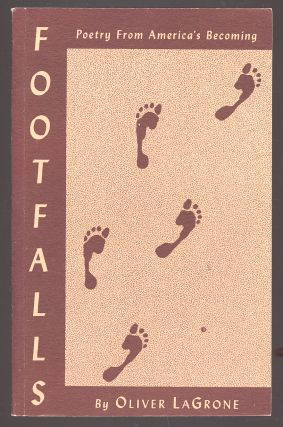 Footfalls: Poetry from America's Becoming