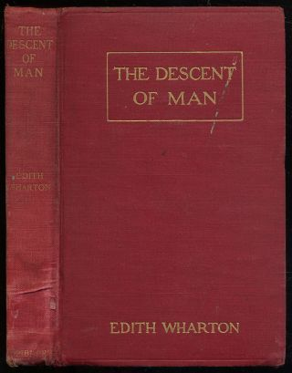 The Descent of Man and other stories. Edith WHARTON