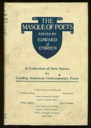 The Masque of Poets: A Collection of New Poems by Contemporary American Poets