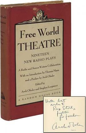Free World Theatre: Nineteen New Radio Plays