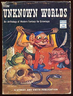 From Unknown Worlds: An Anthology of Modern Fantasy for Grownups