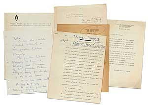 Manuscript]: The Super-Market of Public Service [with] Small Archive of Related Material. James...