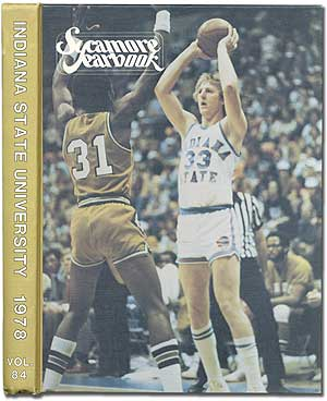 [College Yearbook]: Sycamore Yearbook. Larry BIRD.