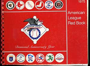 The 1975 American League Red Book: 46th Annual Edition
