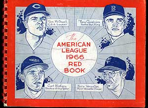 The 1966 American League Red Book: Thirty-Seventh Annual Edition