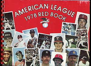 The 1978 American League Red Book: 49th Annual Edition