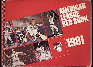 The 1981 American League Red Book: 52nd Annual Edition