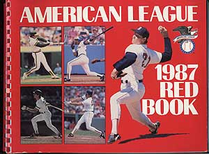 The 1987 American League Red Book: 58th Annual Edition