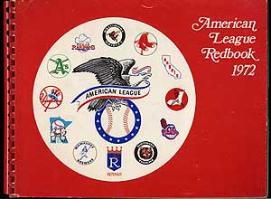 The 1972 American League Red Book: 43rd Annual Edition