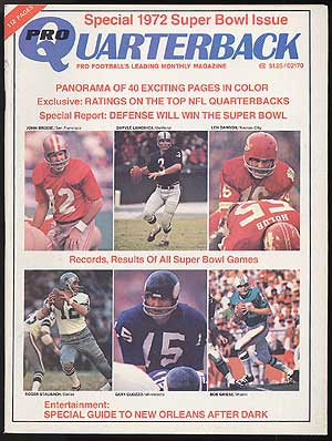 [Magazine]: Pro Quarterback -- Volume 2, Number 4, February 1972
