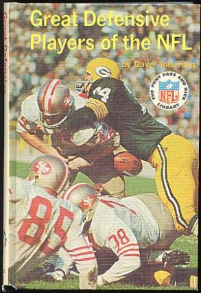 Great Defensive Players of the NFL. Dave ANDERSON.