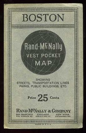 Boston: Rand-McNally Vest Pocket Map