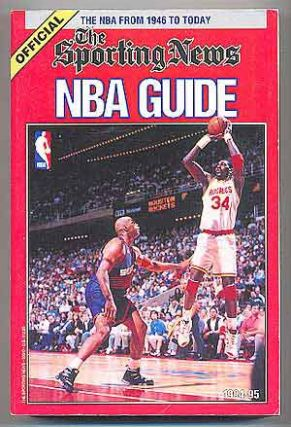 The Sporting News Official NBA Guide 1994-95. Craig CARTER, Alex Sachare.